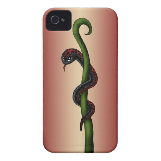 black Snake iPhone 4 Cover