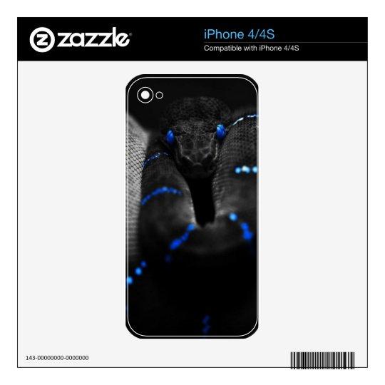 black snake iPhone 4S skin