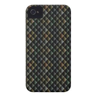 Black Snake Skin iPhone 4 Case