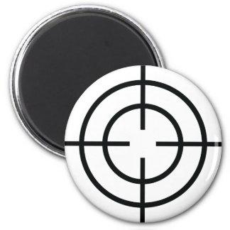 black sniper  crosslines icon magnet