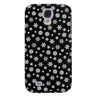 Black Snowflakes Pattern iPhone 3G/3GS Case