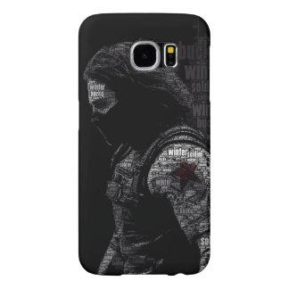 Black Soldier Samsung Galaxy S6 Case