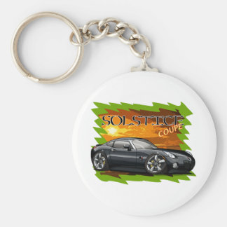 Black Solstice Coupe Keychain