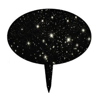 BLACK SPACE STARS BACKGROUNDS WALLPAPERS CUSTOMIZA CAKE PICKS