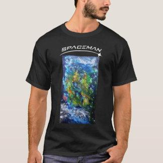 Black Spaceman Tshirt MSSS-409
