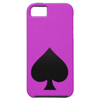 Black Spade - Cards Suit Poker Spear iPhone 5 Covers