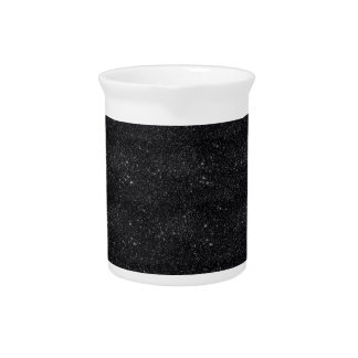 Black Sparkles Drink Pitcher