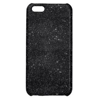 Black Sparkles iPhone 5C Case