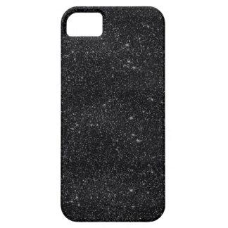 Black Sparkles iPhone SE/5/5s Case