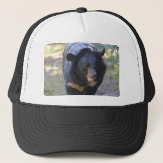 Black Spectacled Bear Trucker Hat