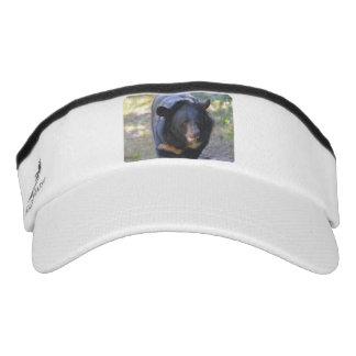Black Spectacled Bear Visor