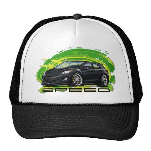 Black_Speed3 Trucker Hat
