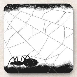 Black Spider (AOM Design) Drink Coaster