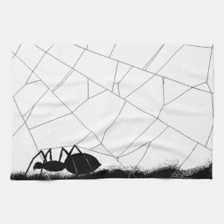 Black Spider (AOM Design) Kitchen Towel