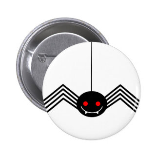 Black Spider Button