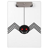 Black Spider Clipboard