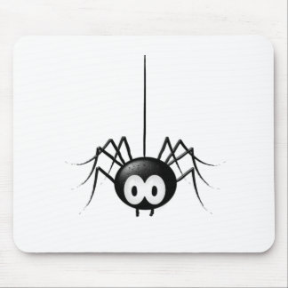 Black Spider Cute Halloween Gift Mouse Pad