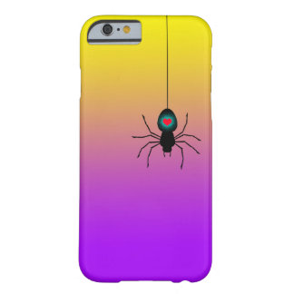 Black spider descending. barely there iPhone 6 case