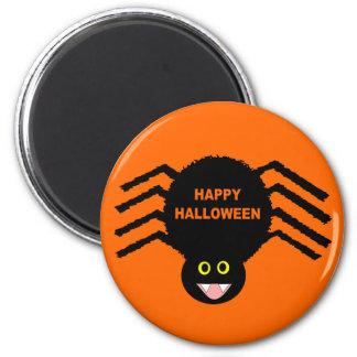 Black Spider Halloween Magnet