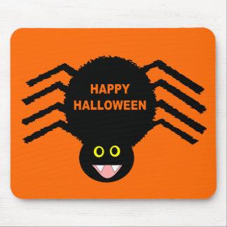 Black Spider Halloween Mousepad