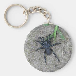Black Spider Key Chain