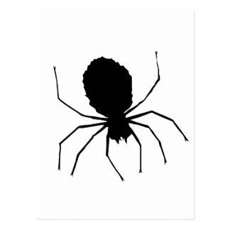 Black Spider Love_ Postcard