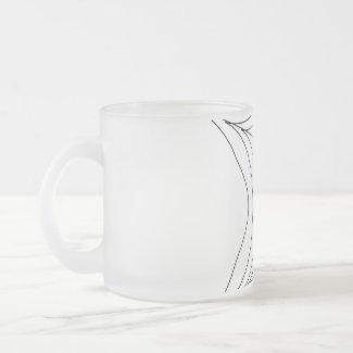 Black Spider Mug mug