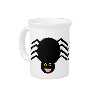 Black Spider Pitcher