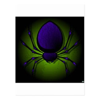 Black Spider Postcard