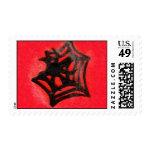 Black Spider Stamps