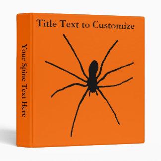 Black Spider Template Binder