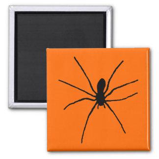 Black Spider Template Magnet