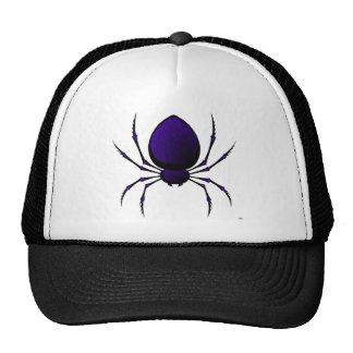 Black Spider Trucker Hat