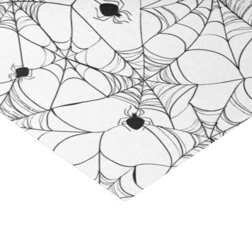 Halloween Themed Black Spider Web Halloween Tissue Paper