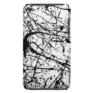 Black Splatter I-Pod Touch Case