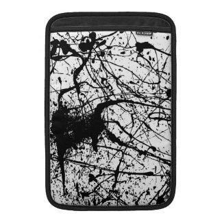 """Black Splatter MacBook Air 11"""" sleeve MacBook Sleeve"""