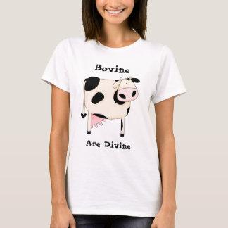 Black Spot Cow T-Shirt