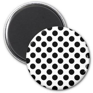 Black Spots Refrigerator Magnets