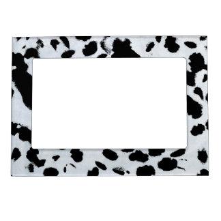 Black Spots Magnetic Frame