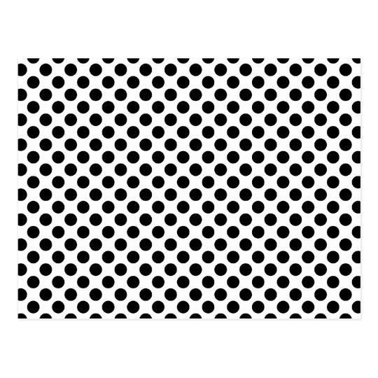 Black Spots Postcard