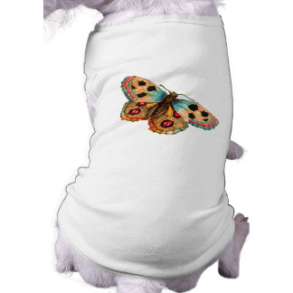 Black Spotted Butterfly Pet Clothing