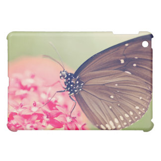 Black Spotted Crow Butterfly iPad Mini Cover