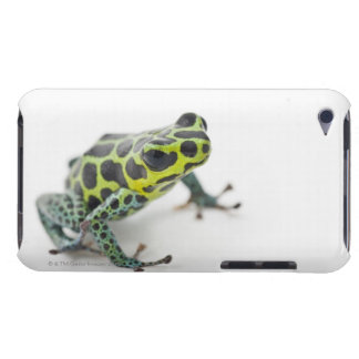 Black Spotted Green Poison Dart Frog iPod Touch Cover