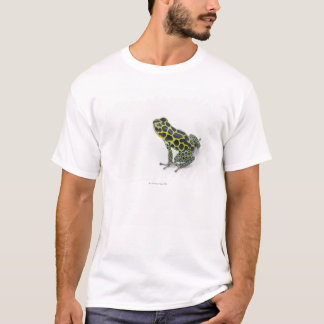 Black Spotted Green Poison Dart Frog T-Shirt