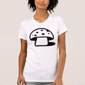 Black Spotted Mushroom Shirt