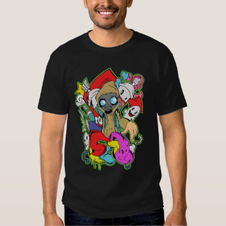Black Spray T-Shirt