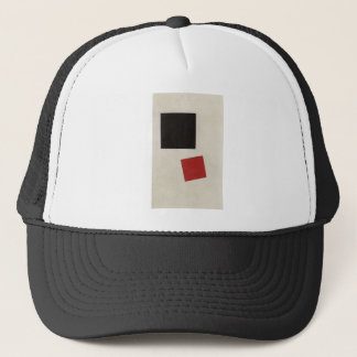 Black Square and Red Square by Kazimir Malevich Trucker Hat