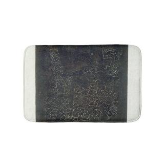 Black Square Bath Mat