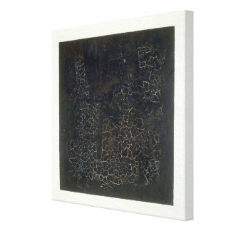 Black Square Canvas Print
