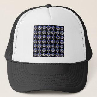 Black Square & Compass Trucker Hat